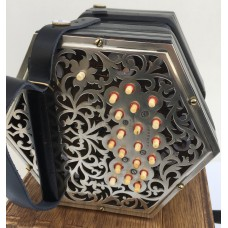 Faux but period Jeffries CG Anglo Concertina