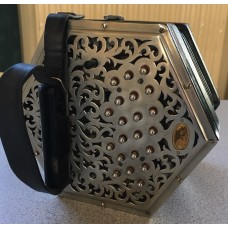 Wheatstone Anglo Concertina Early Model 38 key