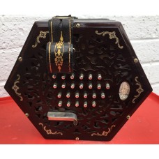 Lachenal Inimitable English Treble Concertina 48 key