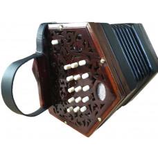Lachenal 30 Key Anglo Concertina CG