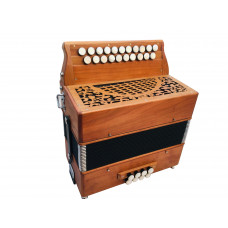 Ex Demo Melodeon Button Accordion from the Sandpiper Factory Key BC