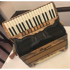 Bugari Xoana 148 Special Piano Accordion 4 voice 96 Bass