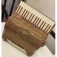 Bugari Xoana Burr Elm 4 voice Piano Accordion
