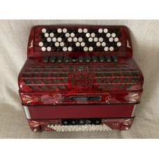 Bugari Continental Chromatic Championfisa C System Button Accordion