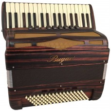 Bugari Xoana 148 in Cocobolo Wood 96 Bass 4 Voice Piano Accordion