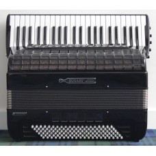 Bugari Activa Compact Bayan Piano Accordion  Convertor Bass C System