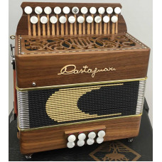 Castagnari Lilly DG Melodeon in Walnut USED