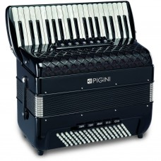 Pigini Convertor 37 P3 96 bass piano accordion Converts from standard Stadella to Free Bass