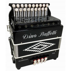Dino Baffetti Black Pearl II DG Melodeon