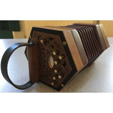 Andrew Norman 13 key miniature Anglo Concertina in G