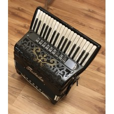 Fisitalia 34 Key 4 voice right hand 5 voice left hand Piano Accordion with Double Cassotto