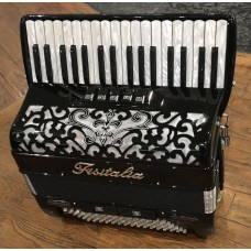 Fisitalia 34 Key 3 voice right hand 4 voice left hand Piano Accordion