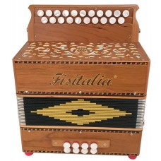 Fisitalia Morris II DG Melodeon Sample with Hand Made Reeds