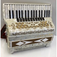 Brandoni Super Musette 4 Voice 120 Bass Piano Accordion