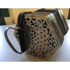Jeffries Bb F 38 key Anglo Concertina