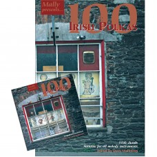 100 Irish Polkas Soundtrack CD/Book Package