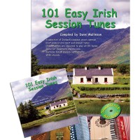 101 Easy Irish Session Tunes Book/CD