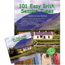 101 Easy Irish Session Tunes Book/CD