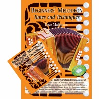 Beginners Melodeon Tunes and Techniques Book and CD