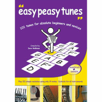 Easy Peasy Tunes Book by Dave Mallinson