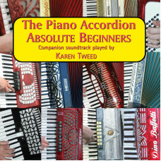 The Piano Accordion Absolute Beginners CD only