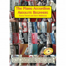 The Piano Accordion Absolute Beginners Book only