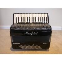Manfrini Compact 37 piano Key 96 4 Voice Piano Accordion