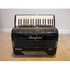 Manfrini Compact 37 piano Key 96 4 Voice Piano Accordion