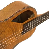 Lani LC-55 SMEQ Concert Ukulele with Fin Shaped sound hole