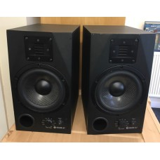 Pair Of Adam A7 Professional Audio Powered Studio Monitor - Black USED