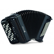 Pigini Studio B2 Convertor freebass continental chromatic button accordion