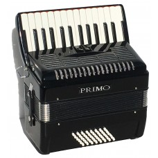 Piano Accordion PRIMO 48 Bass 2 voice with padded rucksack Ex Demo