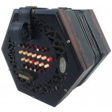Lachenal 48 Button English Concertina Tutor Model Fully Restored