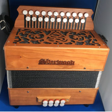 Sherwood Shire II GC Melodeon with Italian reeds used