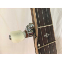 Tonewood 5 string banjo Open Back Walnut model with internal tone ring and geared machines a high quality banjo