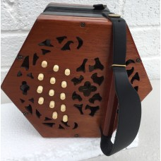 Lachenal Anglo Concertina in D/G