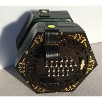 George Case 48 Key English  Concertina
