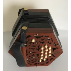 Jones 26 Key Anglo Concertina in GD