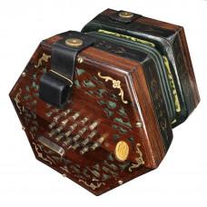Wheatstone 48 button English Concertina Vintage