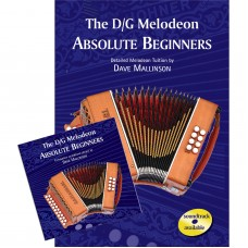 DG Melodeon Book Absolute Beginners Book and CD