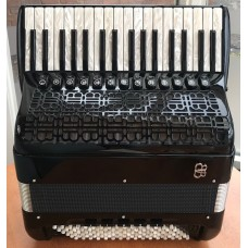 Fabio Ballone Burini Lightweight 374 P 4 voice 96 bass Piano Accordion