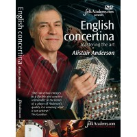 English Concertina Mastering the Art by Alistair Anderson DVD