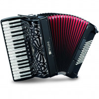 Pigini Preludio P36/3 72 bass Piano Accordion