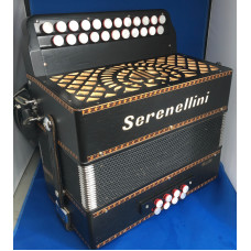 Serenellini Cloud Deluxe DG Melodeon used